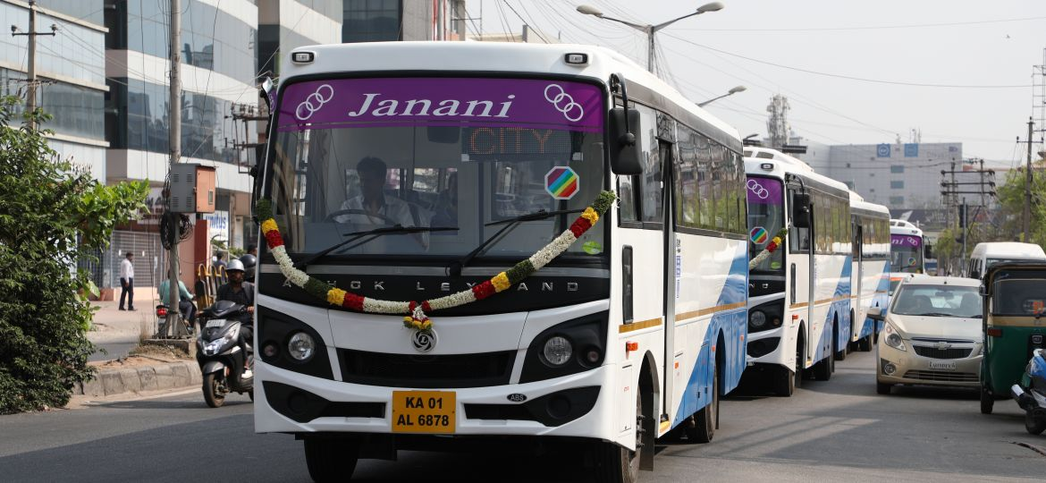 AC Buses added to Janani Fleet